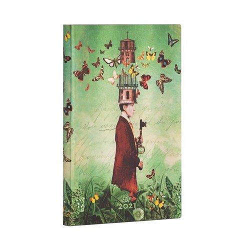 Paper Blanks 2021 Dreamscapes wekelijkse Flexis Maxi-dagboek