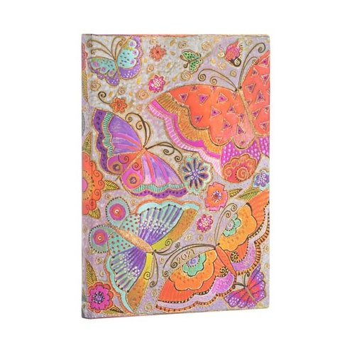 Paper Blanks 2021 Flutterbyes wekelijks midi-dagboek