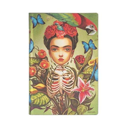 Paper Blanks 2021 Frida Flexis Weekly Midi Diary