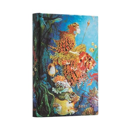 Paper Blanks 2021 Sea Fantasies  Day at a Time Midi Diary