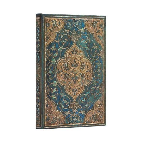 2021 Turquoise Chronicles wekelijks midi-dagboek