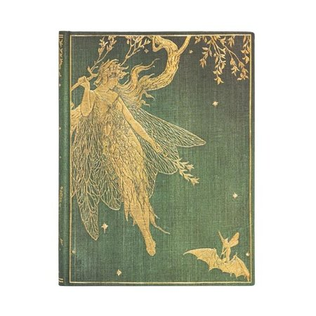 Paper Blanks Fairy Olive ulined Journal