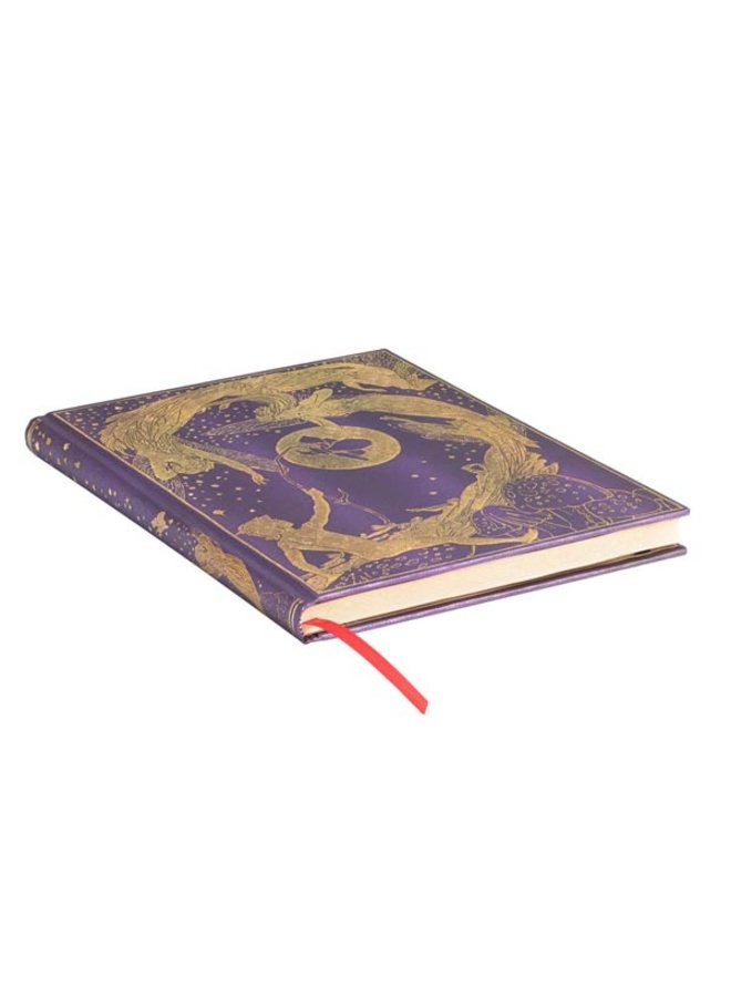 Fairy Violet ulined Journal