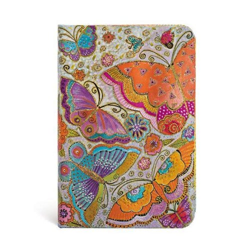 Paper Blanks Mini cuaderno con forro Flutterbyes