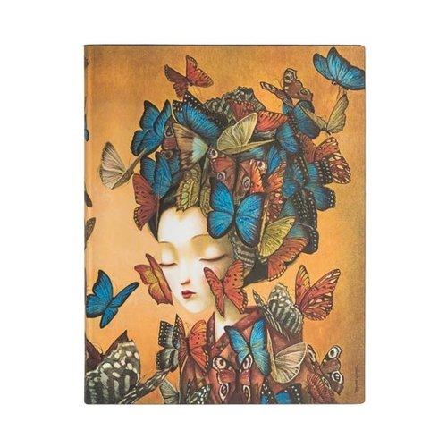 Paper Blanks Diario flexible ultra ulined de Madame Butterfly