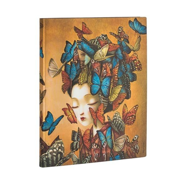 Madame Butterfly Ultra ulined  Flexi Journal
