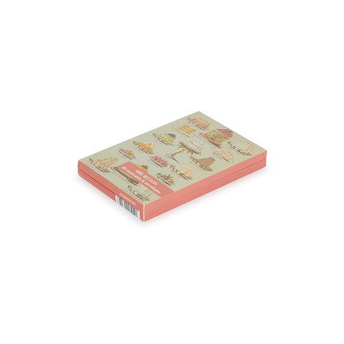 Fitzwilliam Museum Livre de Mme Beaton sur la gestion des ménages 10 Pack Notecard