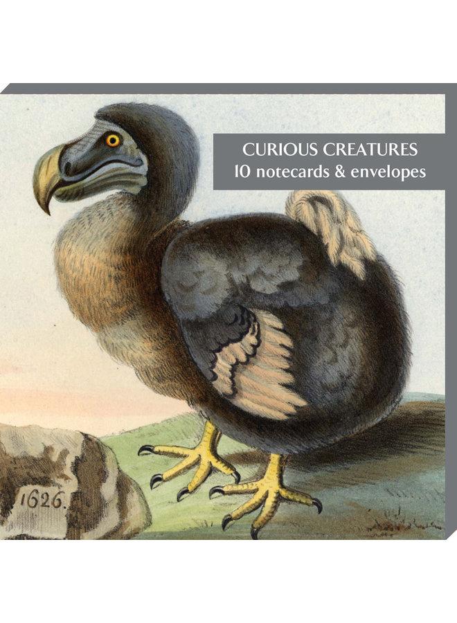 Neugierige Kreaturen 10 Notecard Pack