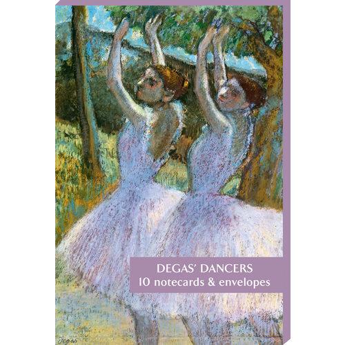 Fitzwilliam Museum Pack de 10 cartes de note danseurs de Degas