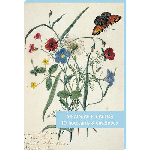 Fitzwilliam Museum Pack de 10 cartes de notes de fleurs des prés