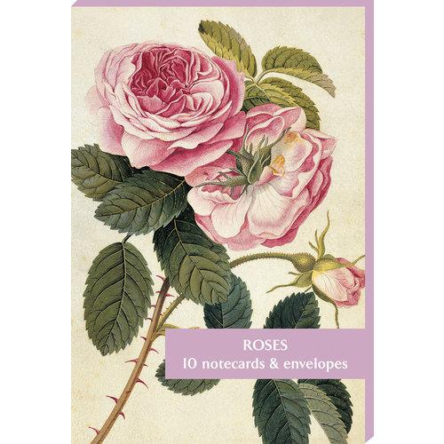 Fitzwilliam Museum Pack de 10 cartes de notes Roses