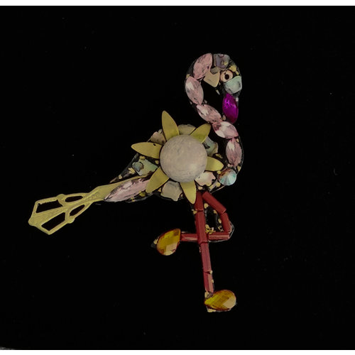 Annie Sherburne Flamingo Brooch 208