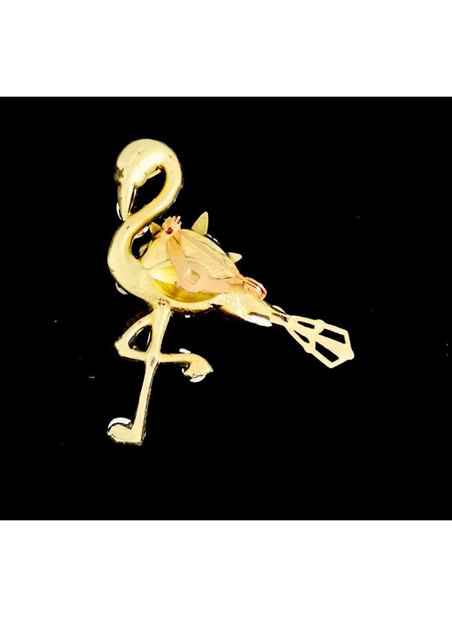 Flamingo-Brosche 208