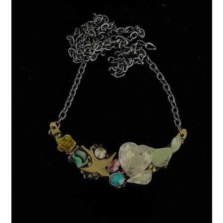 Annie Sherburne Necklace with  Flying Bird 223