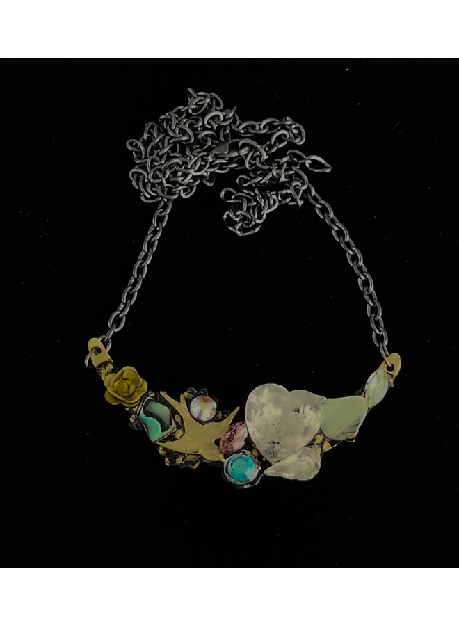 Necklace with  Flying Bird 223