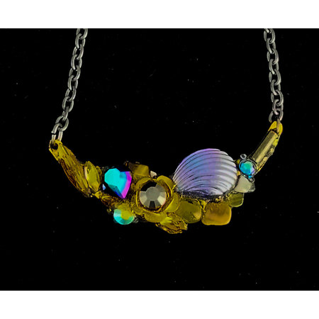 Annie Sherburne Necklace with Irridescent Shell 221