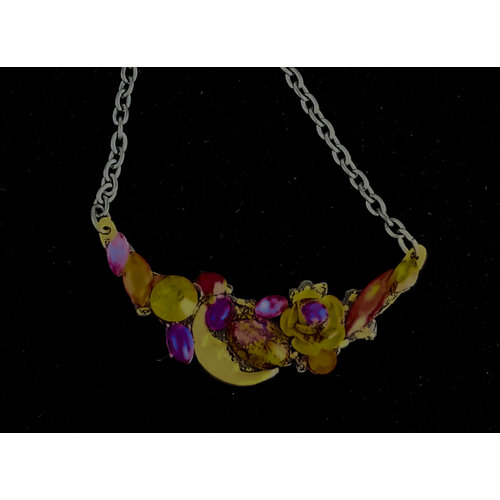 Annie Sherburne Necklace with Moon 222
