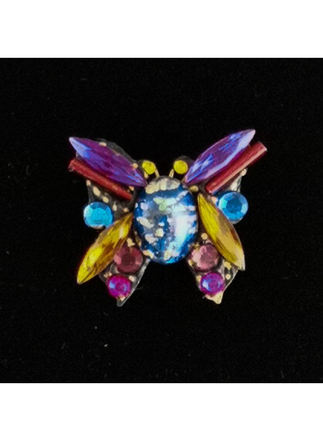Purple Wing Butterfly Kleine Brosche 213