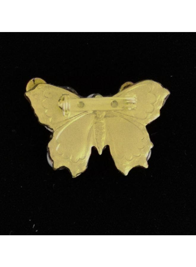 Roter Flügel Kleine Schmetterlingsbrosche 215