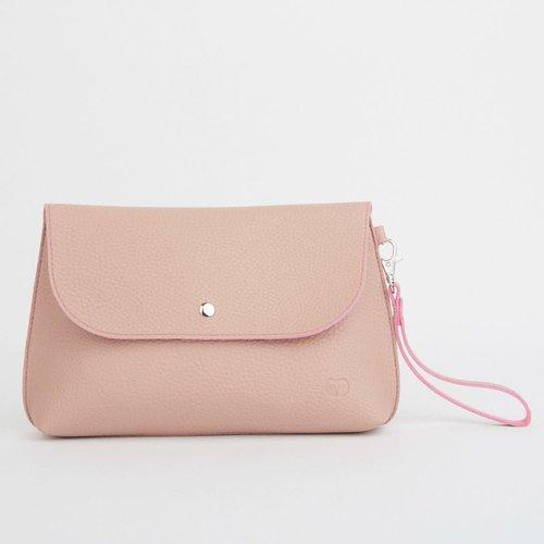 goodeehoo Dusky Clutch Bag Pink 049