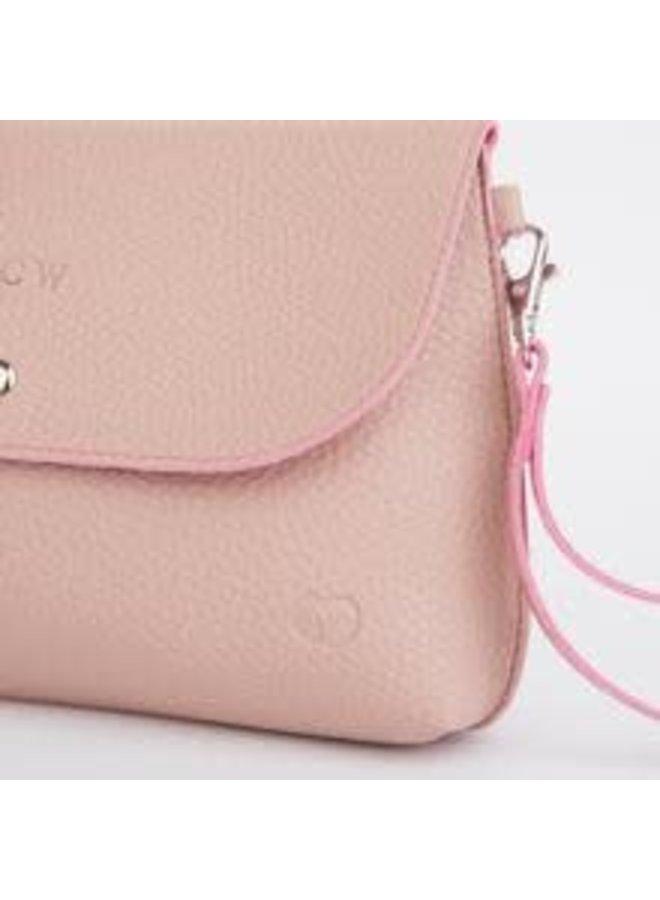 Dusky Clutch Bag Pink 049