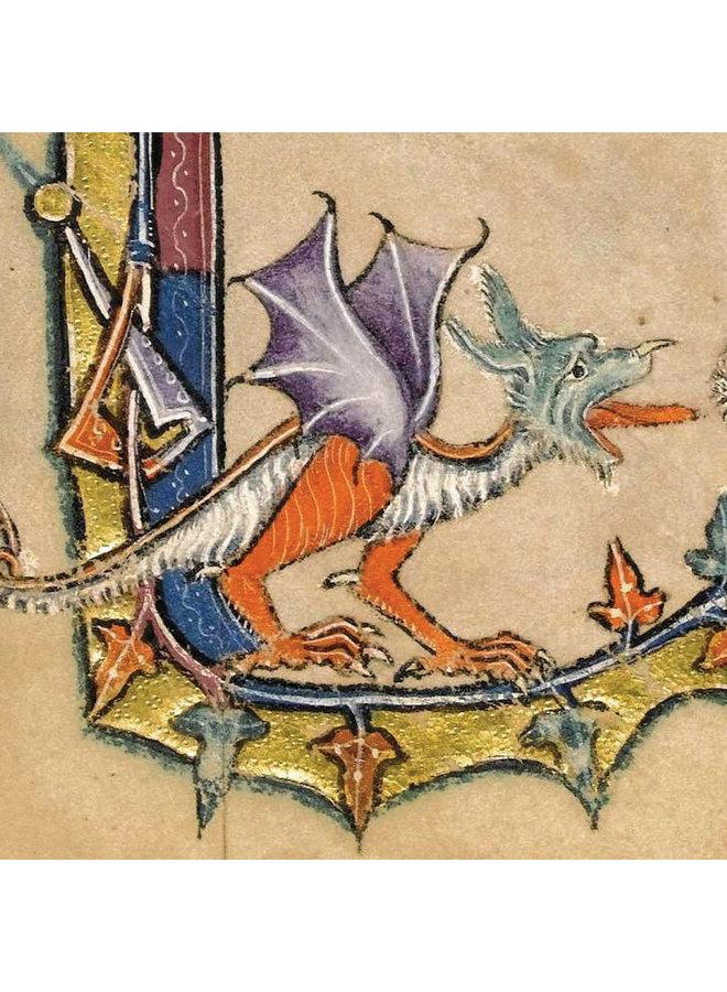 Dragon Macclesfield Psalter  1330 Card