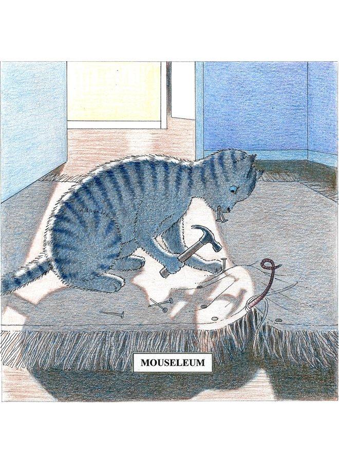 Mouseleum Humorous  Cat card 26