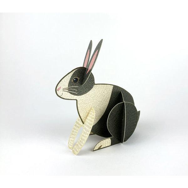 Rabbit Pop-Out-kaart van Alice Melvin