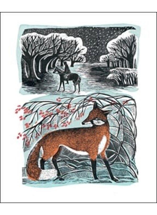 Vorbeischauen bei Woods von Angela Harding