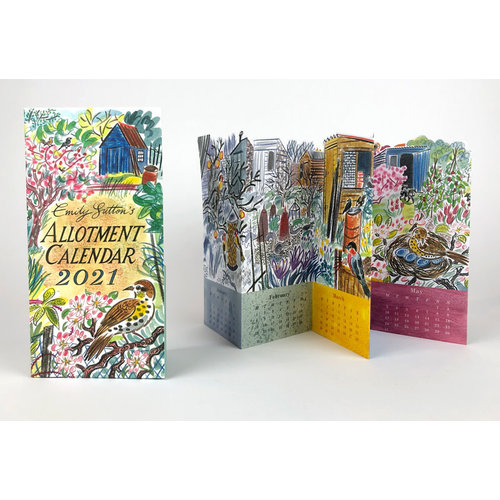 Art Angels Allotment Calendar 2021 by Emily Sutton