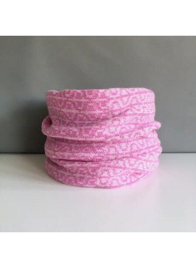 Merino Lämmer Wolle PHI Cowl Showbiz Pink 005