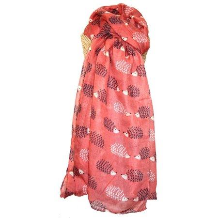 LUA Egel lange sjaal Rosewood Pink 253