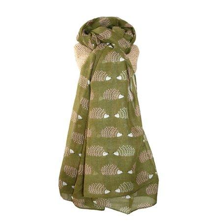 LUA Egel lange sjaal Olive 255