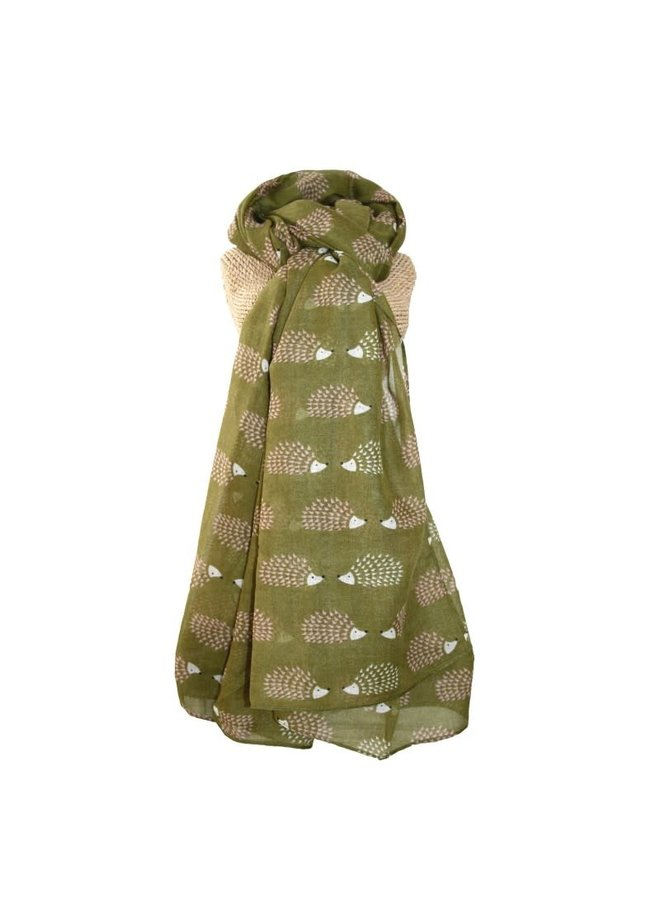Igel langer Schal Olive 255
