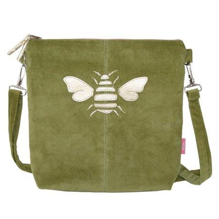 LUA Golden Bee Messinger Bag Groen 455