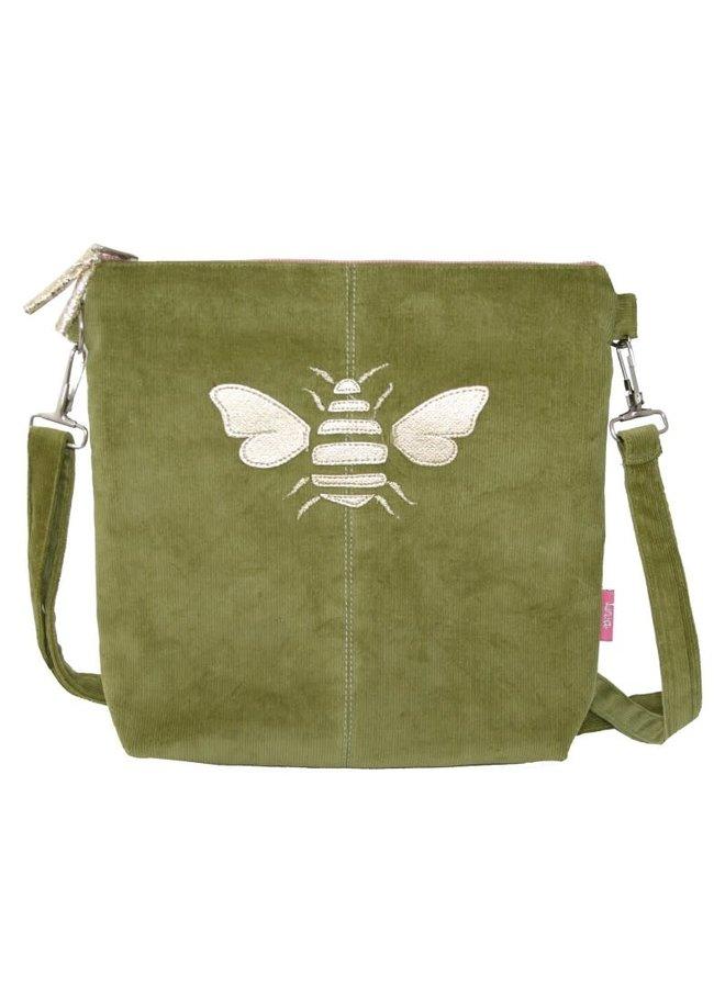 Golden Bee Messinger Tasche Grün 455