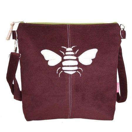 LUA Golden Bee  Messinger Bag Fig Purple 456