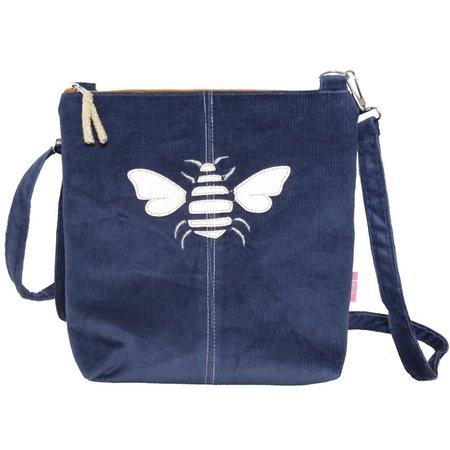 LUA Golden Bee Messinger Bag Marineblauw 456