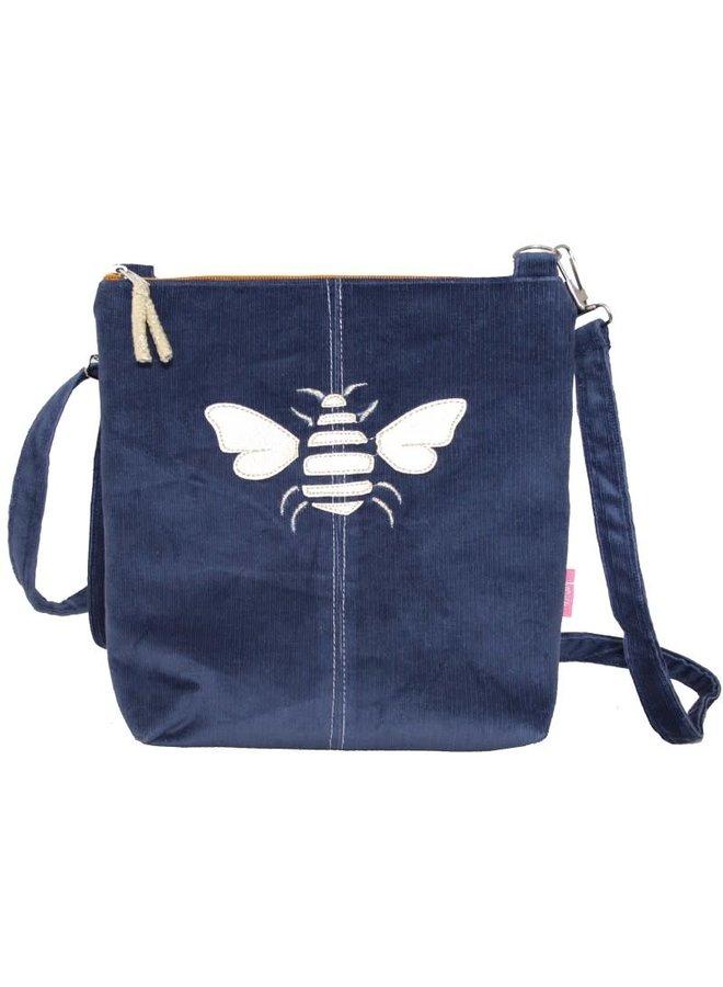 Golden Bee Messinger Tasche Marineblau 456