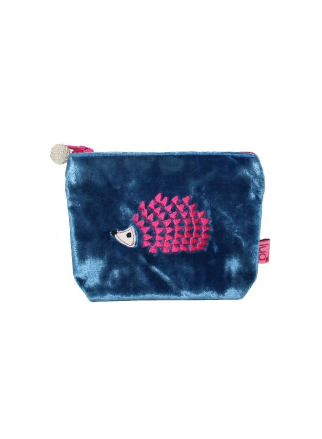 Igel Mini Geldbörse Velvet Blue 293