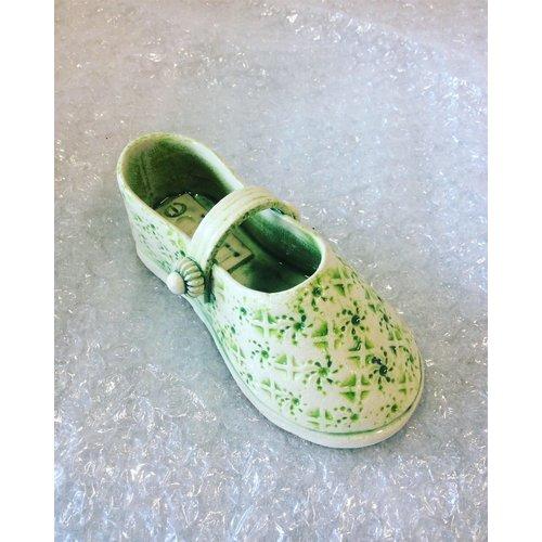 Drew Caines Chaussure à lanière Vert 11