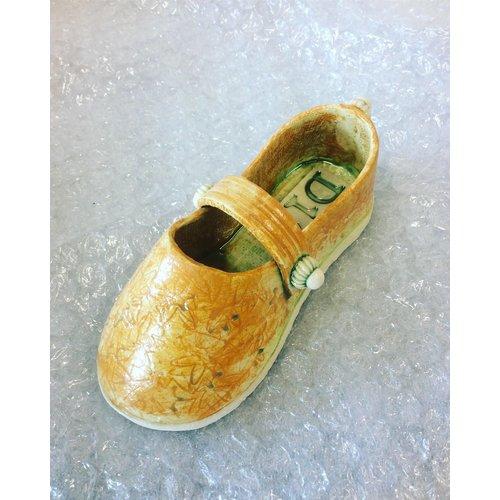 Drew Caines Chaussure à lanière orange 13
