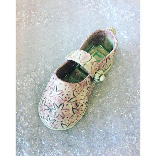 Drew Caines Chaussure avec sangle lilas 15