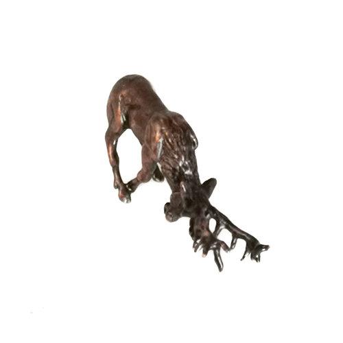 David Meredith Rutting Stag Bronze 76