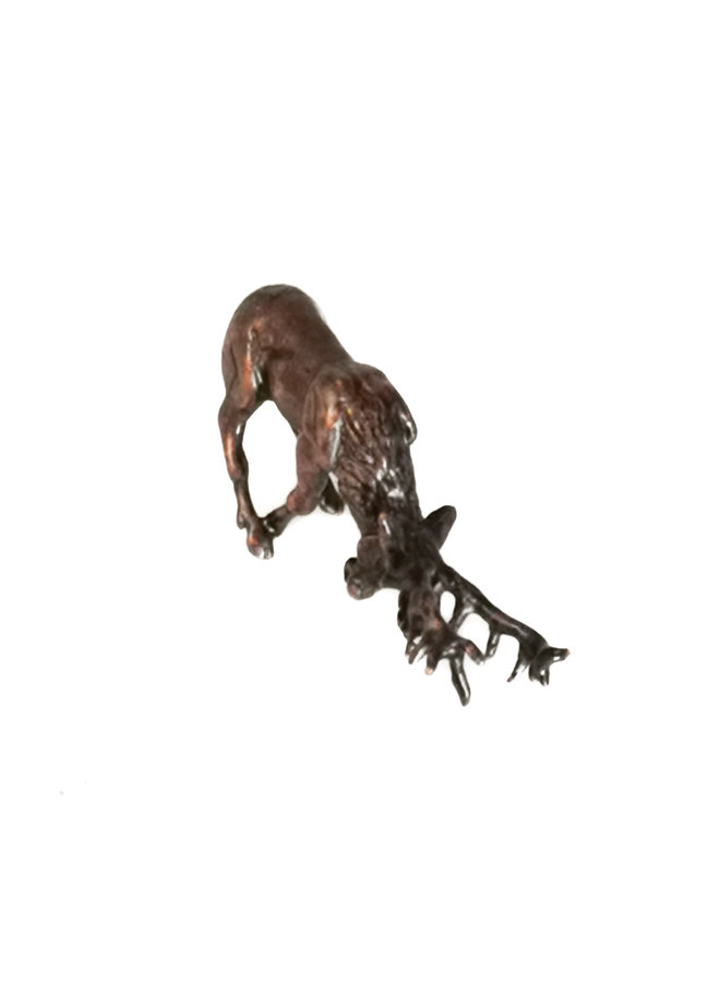 Rutting Stag Bronze 76