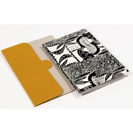Wald Tropic Pattern A5 Notitieboek met map 06