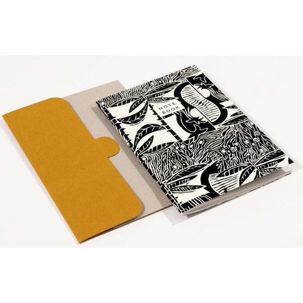 Tropic Pattern A5 Notitieboek met map 06