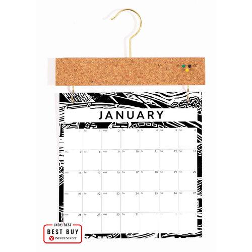 Wald Calendario de tablero de anuncios 2021 01