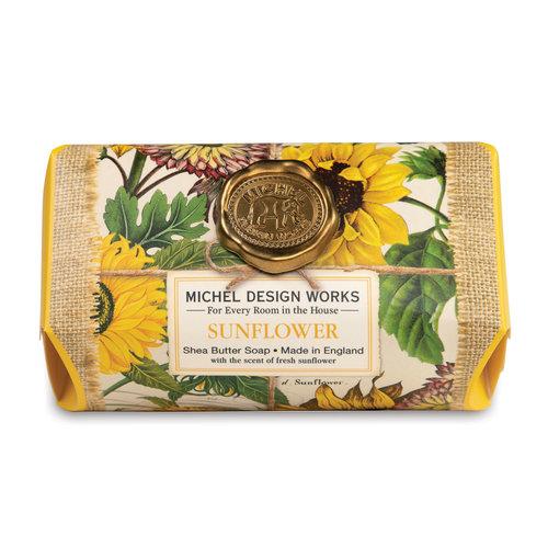 Michel Design Works Sunflower Large Bath Shea Soap Bar