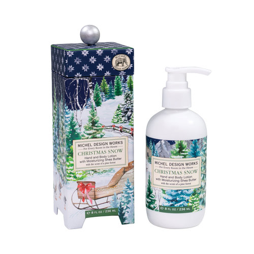 Michel Design Works Christmas Snow Hand and Body Lotion 236ml